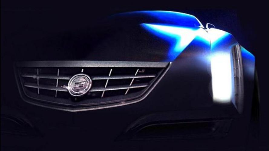 Cadillac concept: i primi teaser