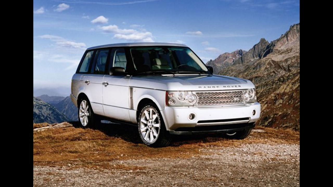 Range Rover Vogue Security