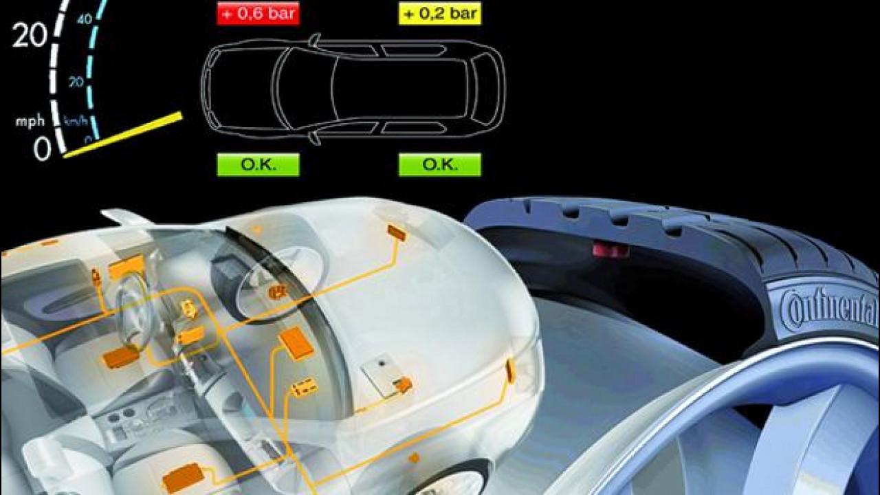 [Copertina] - Pneumatici: sensori di pressione obbligatori dal 2014