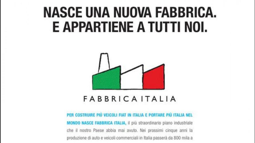 Il Gruppo Fiat cancella Fabbrica Italia