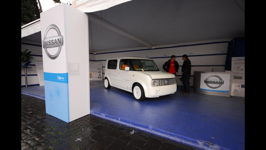 Nissan ad H2Roma 2008: una scossa verso il futuro