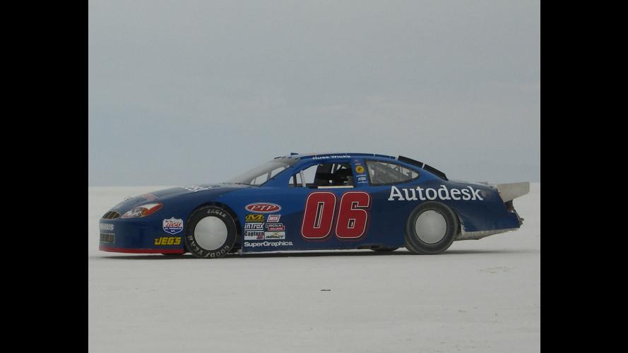 A Bonneville battuto il record di velocità per stock car