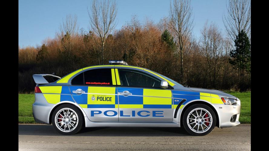 Trilogia di Evo per la Polizia inglese