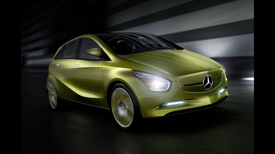 Mercedes prepara tre concept BlueZero per Detroit