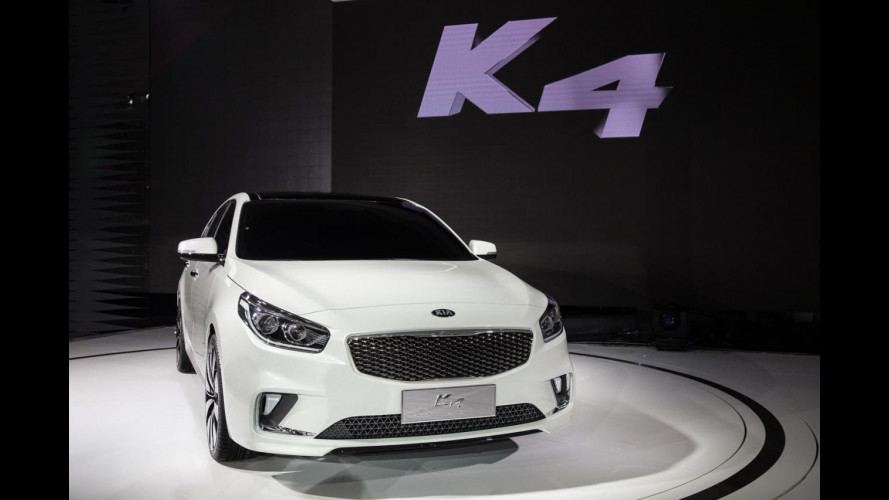 Kia K4, la concept che concept non è