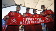 Rally: bis iridato per Citroen