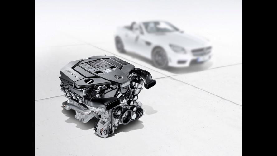Nuovo V8 AMG 5,5, consumi ridotti del 30%