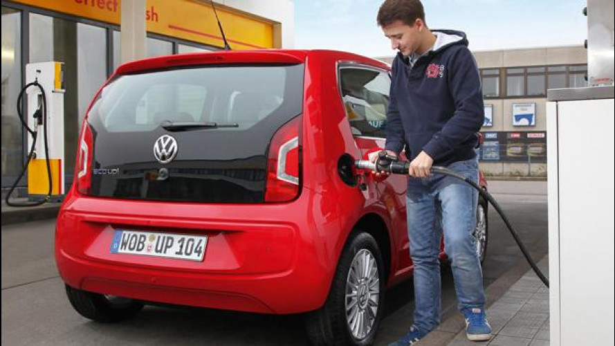 Volkswagen eco up!, la up! a metano in tre allestimenti