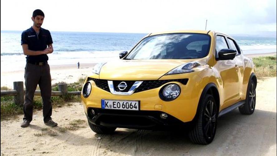 Nissan Juke restyling: diversa, piccola e divertente [VIDEO]