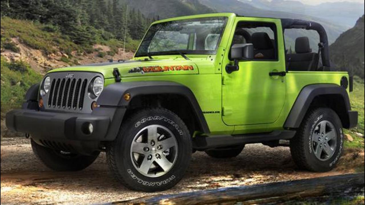 [Copertina] - Jeep Wrangler Mountain, la serie speciale ad un prezzo di 32.500 euro
