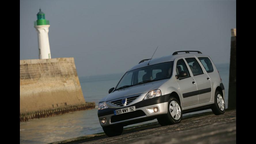 Dacia Logan MCV: in vendita da gennaio