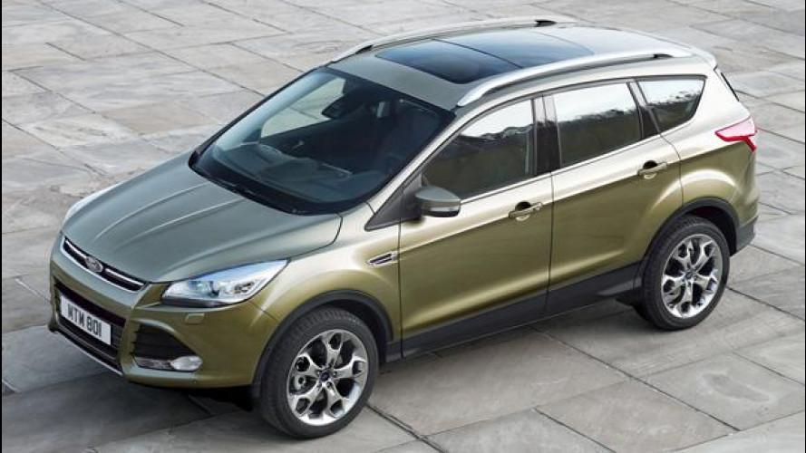 Ford Kuga, prezzo promozionale da 22.250 euro