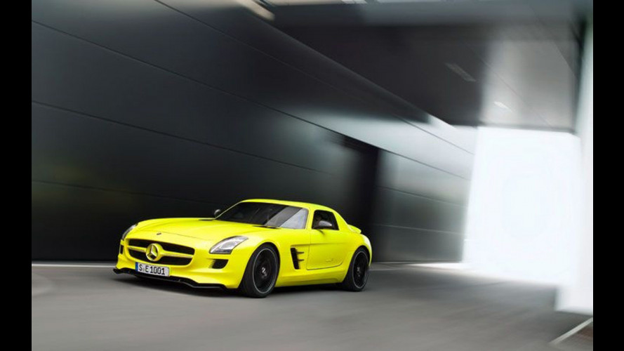 Mercedes SLS AMG E-Cell: in vendita dal 2013