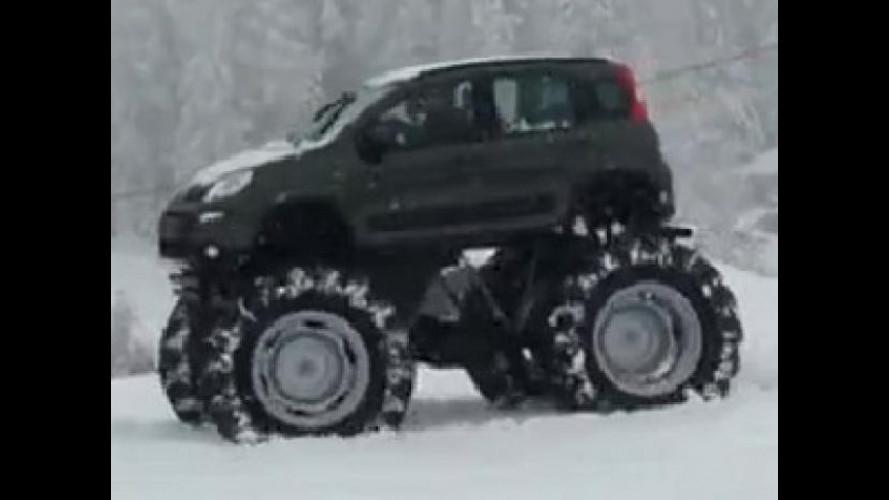 "Nuova Fiat Panda 4x4 ""Bigfoot"""
