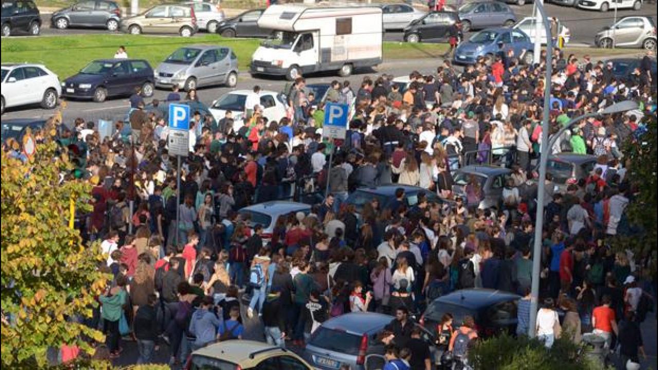 [Copertina] - Sciopero generale 14 novembre, la situazione del traffico a Roma