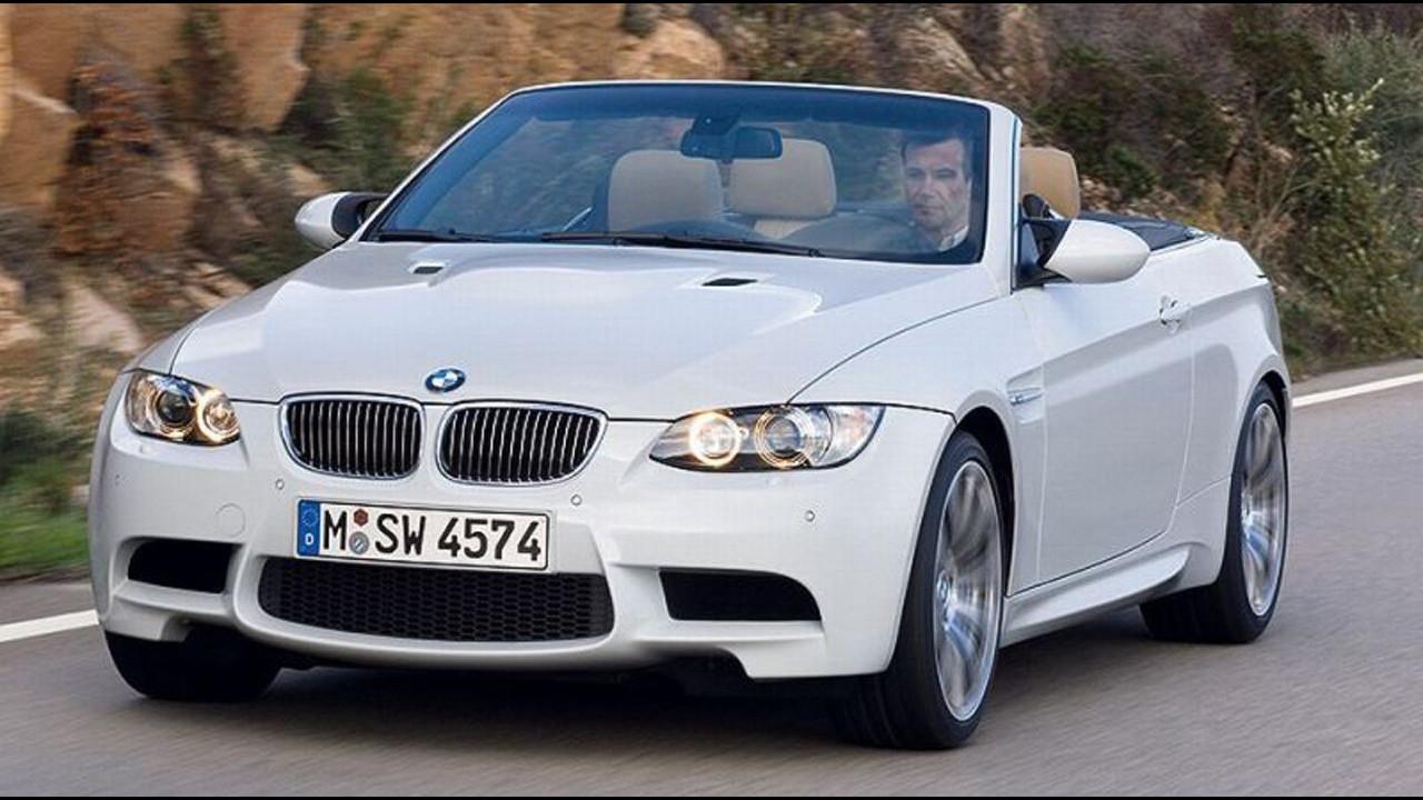 BMW M3 Cabrio in arrivo