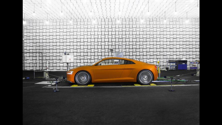 """L'Audi elettrica avrà il rumore della RSQ di """"Io, Robot"""""""