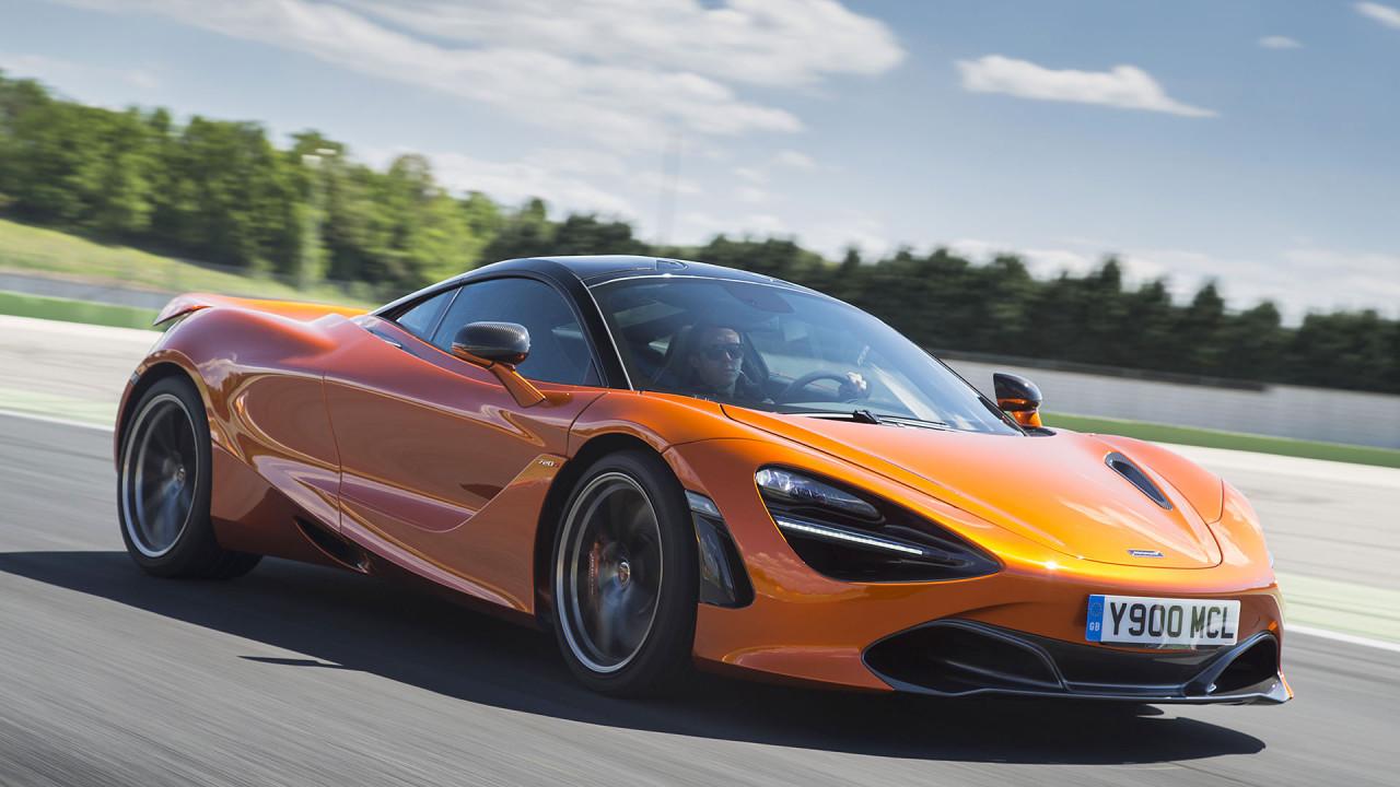 McLaren 720S Coupé: ca. 1,92 Kilo pro PS