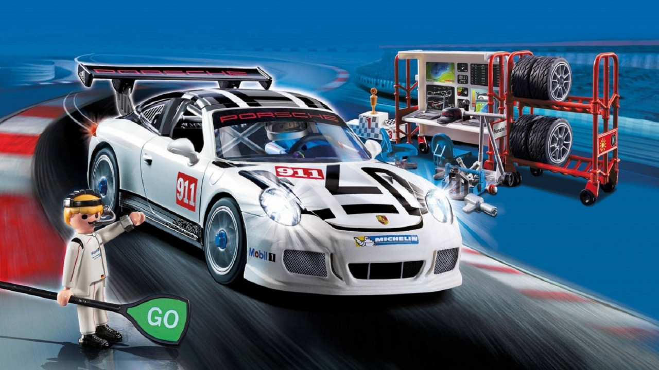 [Copertina] - Porsche 911 GT3 Cup, versione speciale by Playmobil