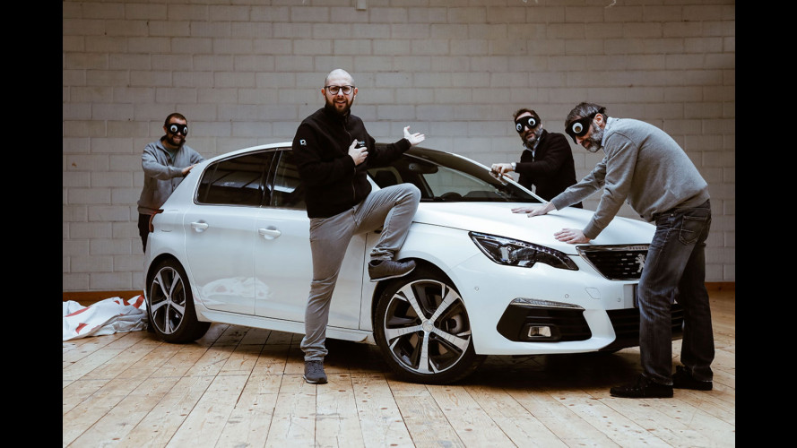 "Peugeot 308, la prova ""al buio"" della berlina francese"