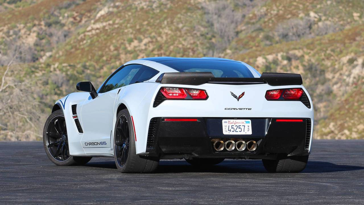 2018 Corvette Grand Sport >> 2018 Chevy Corvette Grand Sport Carbon 65 Edition Review