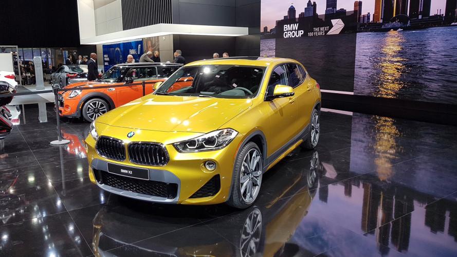 BMW X2, SUV compatta e sportiva
