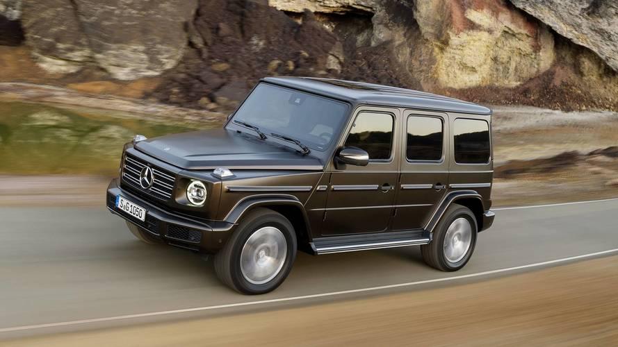 Mercedes-Benz, EQG ismi için iki yeni telif hakkı aldı