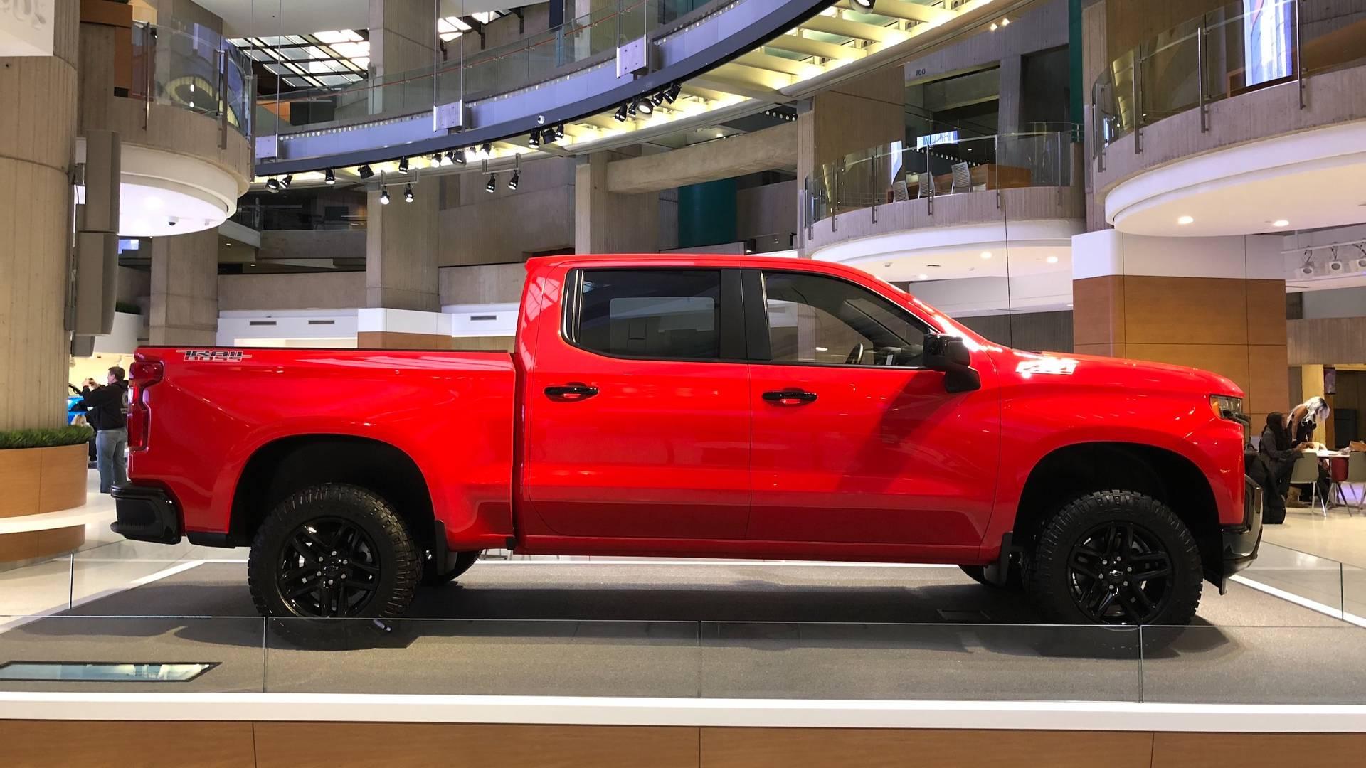 PHOTOS - Le nouveau Chevrolet Silverado au Salon de ...