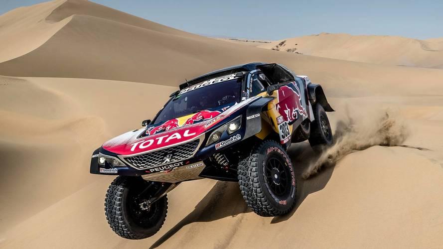 Sainz se hace con el liderato del Dakar, tras los problemas de Peterhansel