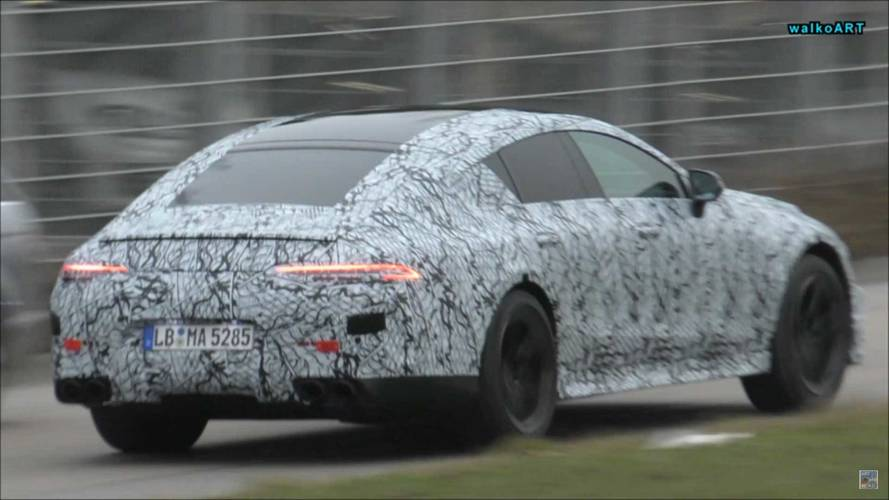 Mercedes-AMG GT Sedan yine videoya alındı