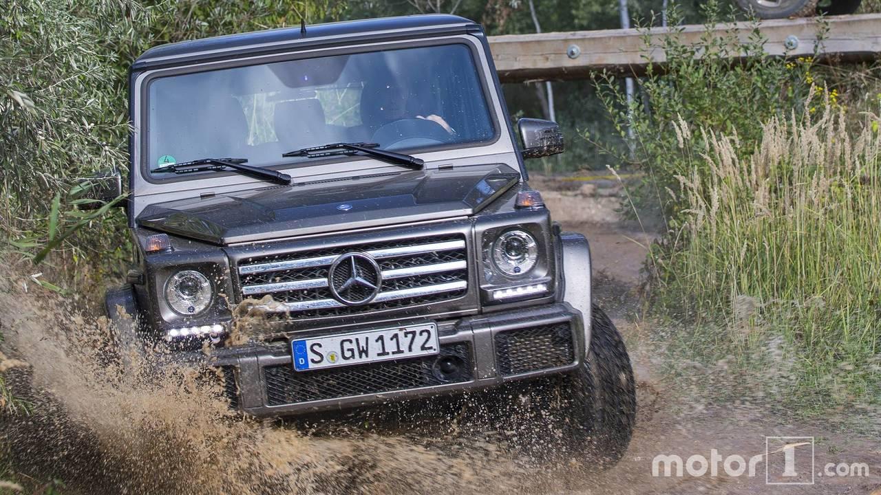 Mercedes Classe G, Comparatif ...