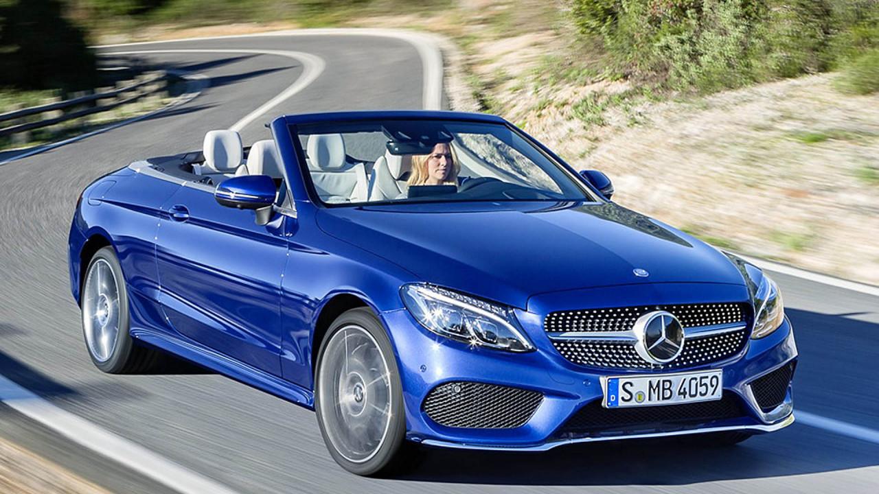 Cabrios und Roadster: Mercedes C-Klasse Cabrio