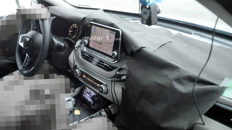 2019 Nissan Altima Interior Spy Photos