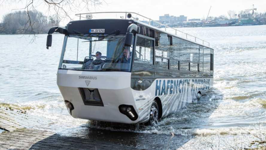 Il bus anfibio di Amburgo