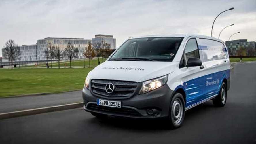 Mercedes eVito il nuovo elettrico di Stoccarda