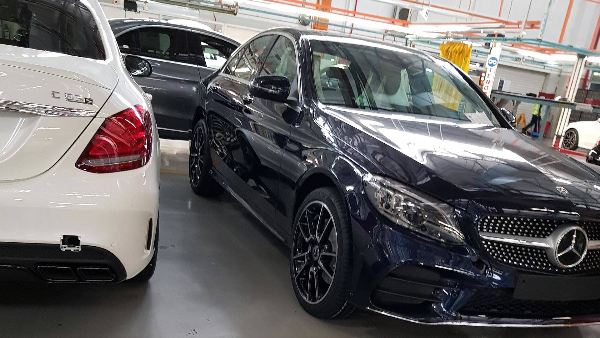 This Is The Subtly Revised Mercedes Amg C43 Sedan