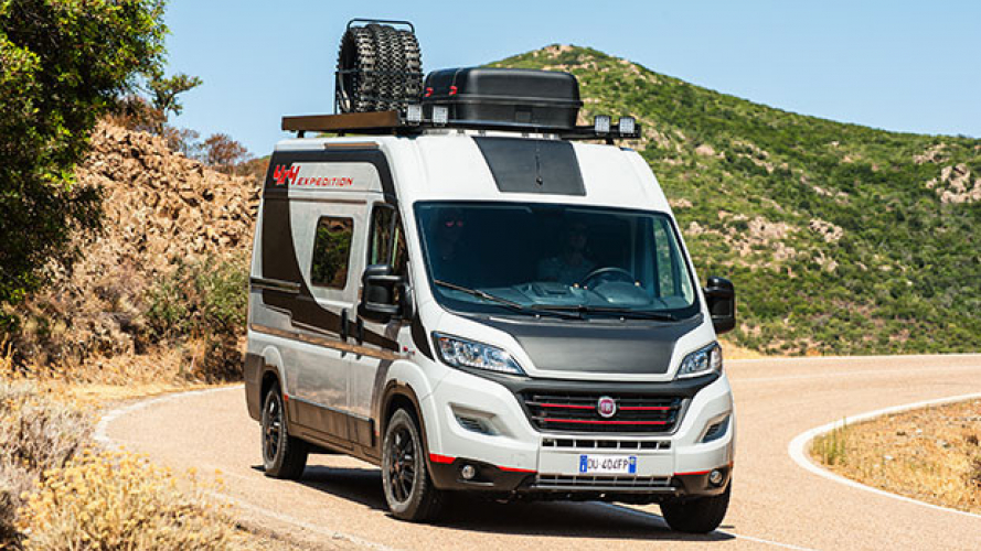 Fiat Ducato 4x4 Expedition al Salone di Düsseldorf [VIDEO]