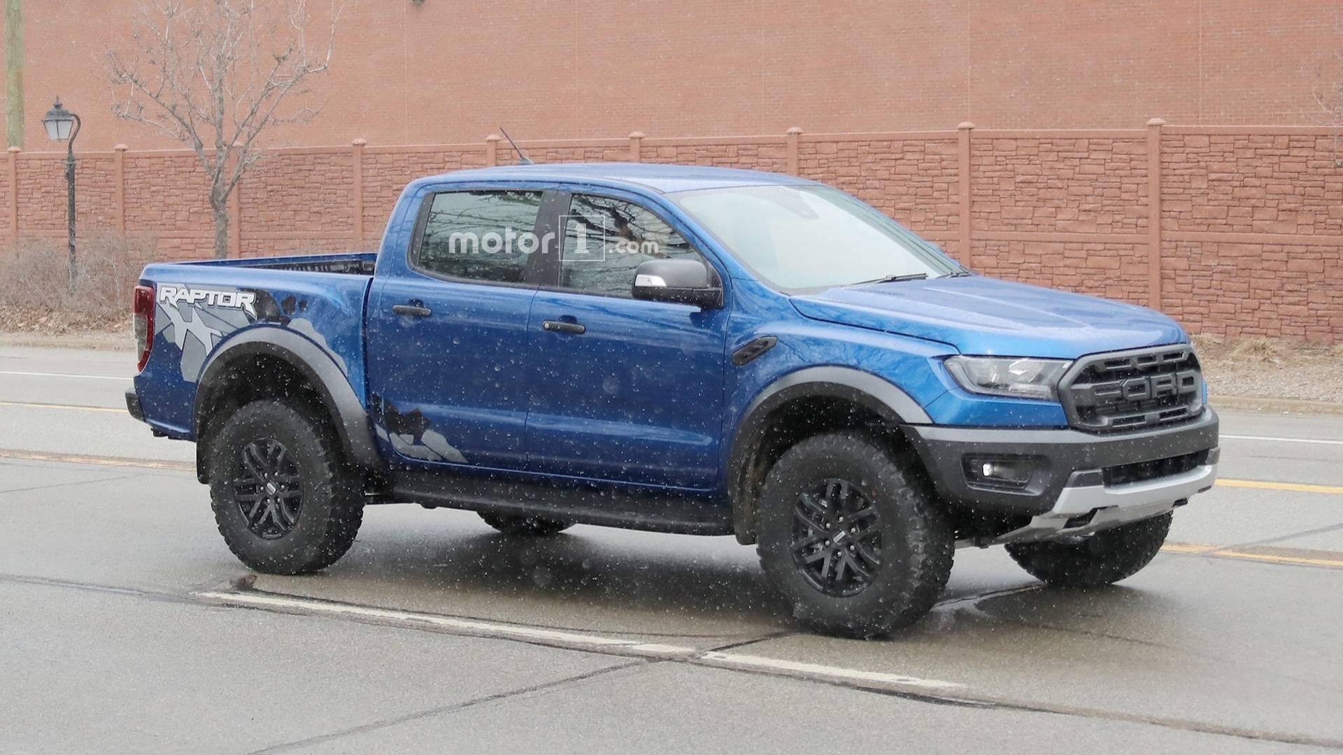 Ford ranger raptor spotted testing on american soil