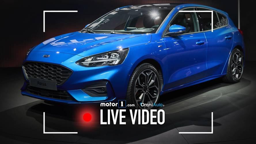 "Nuova Ford Focus, la ""media"" vista dal vivo"