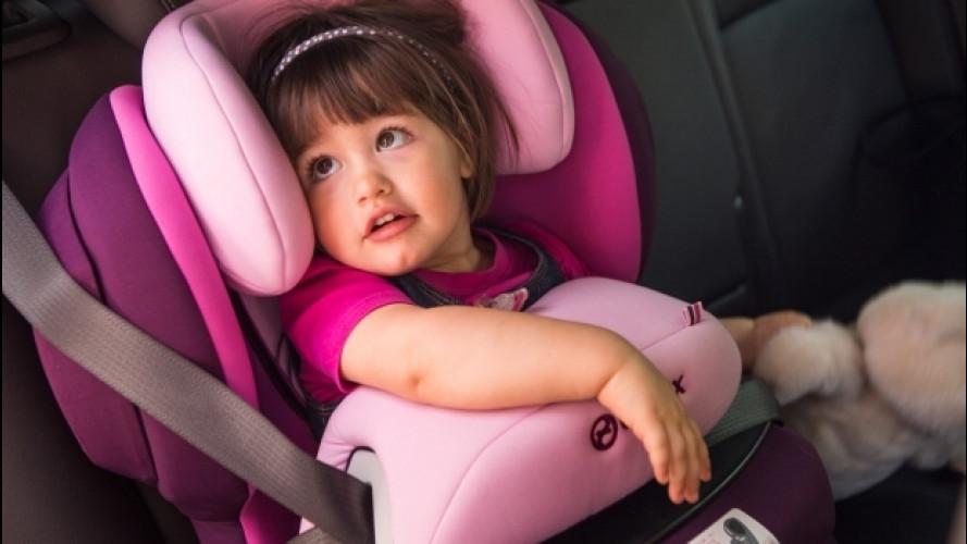 In taxi con i bambini: c'è una petizione per i seggiolini