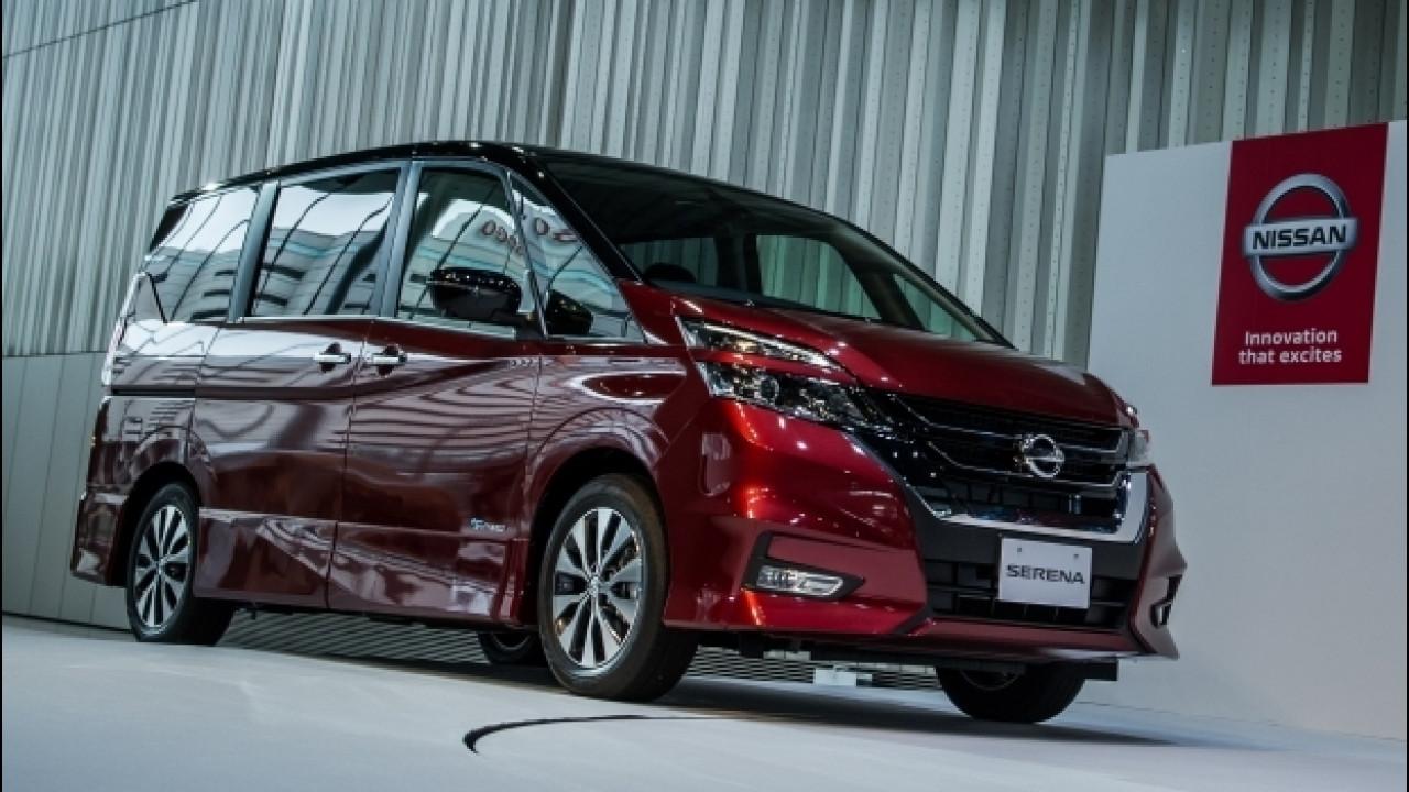 [Copertina] - Nuova Nissan Serena, guida da sola con ProPilot