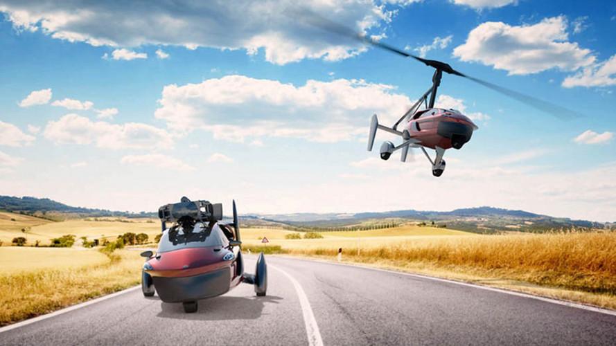 Dünyanın ilk seri üretim uçan otomobili Cenevre'ye geliyor