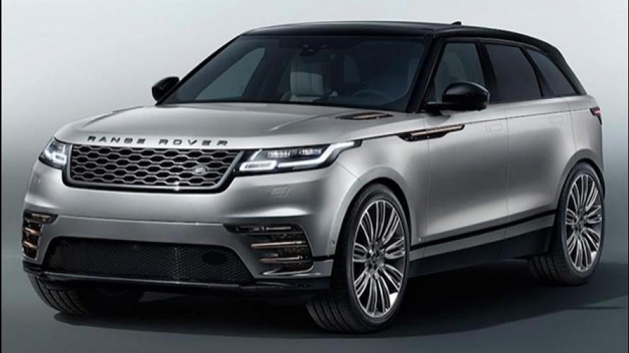 Range Rover Velar, le foto sfuggite in rete