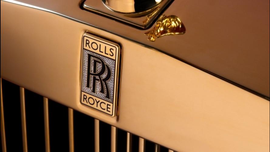 Rolls-Royce Phantom d'oro, la più preziosa di sempre