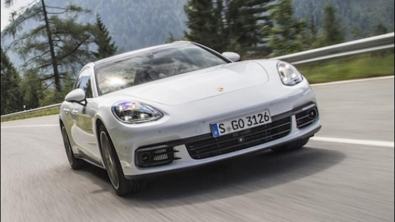 [Copertina] - Porsche Panamera 4S Diesel, una forza della natura