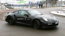 Porsche 911 Turbo New Spy Photos