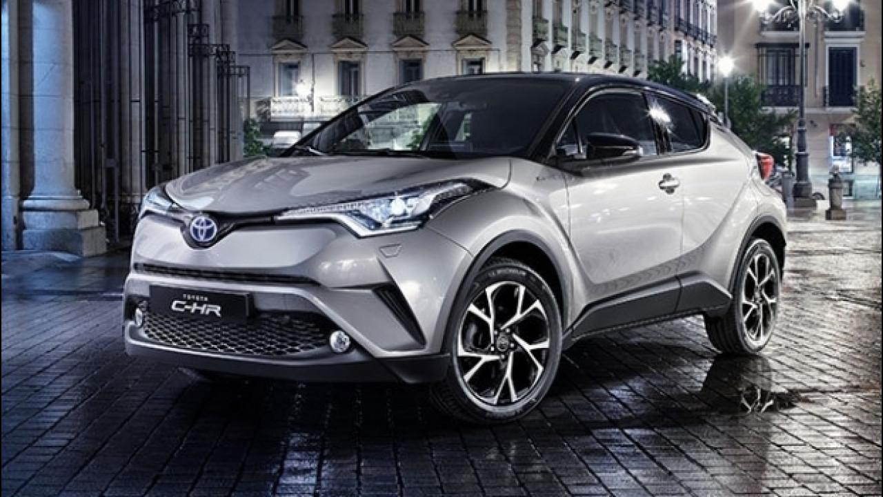 [Copertina] - Toyota C-HR, rivoluzione d'Oriente