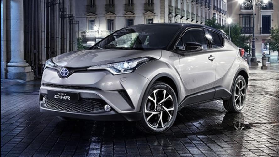 Toyota C-HR, rivoluzione d'Oriente