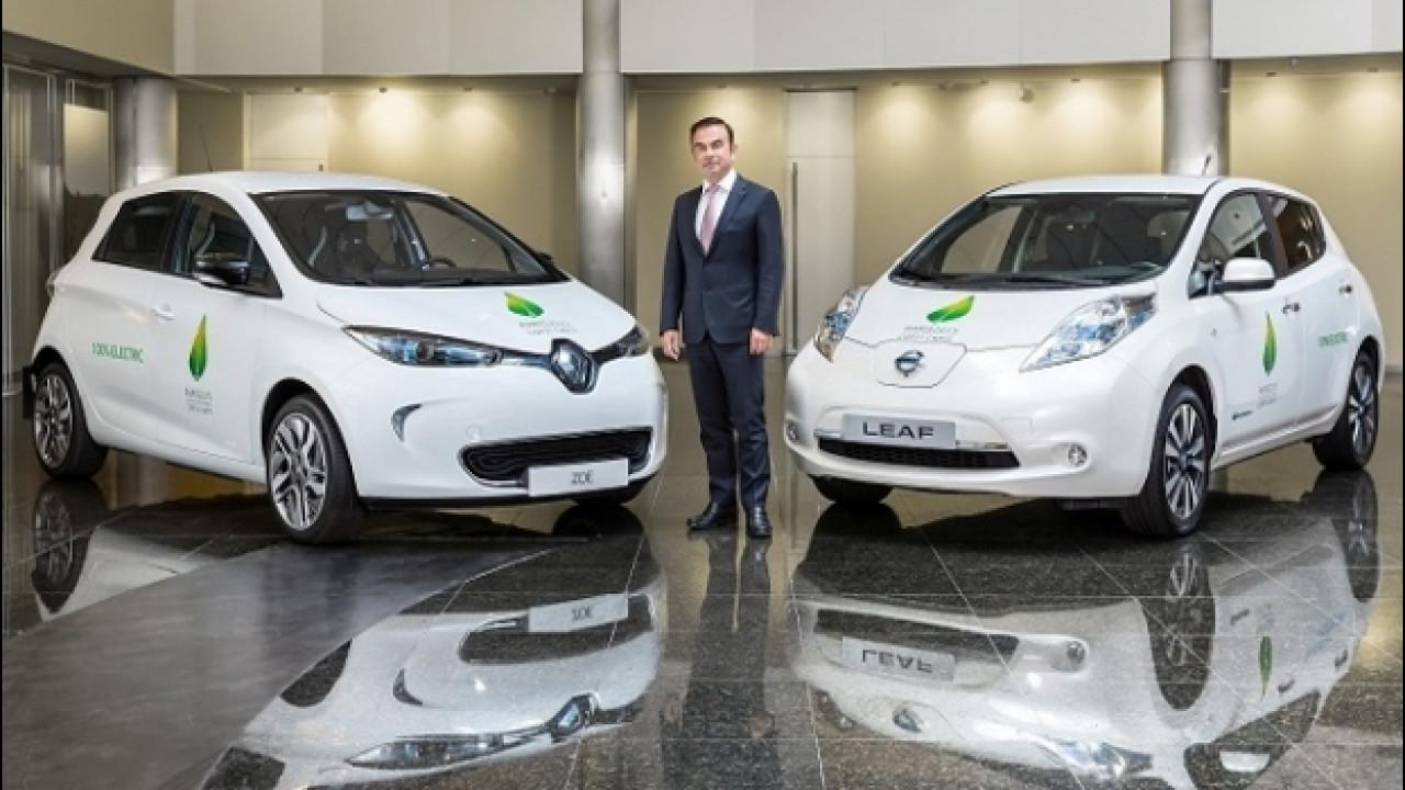 [Copertina] - Renault-Nissan, è record nella vendita di veicoli elettrici