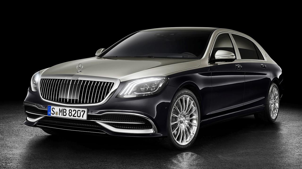 [Copertina] - Mercedes-Maybach Classe S restyling, stella del lusso